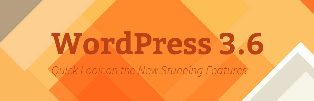 wordpress 3.6 features