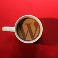 wordpress logo coffee mug