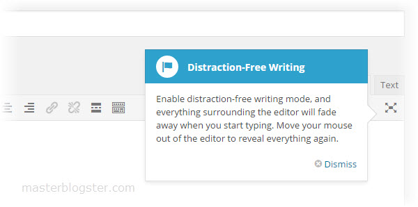 distraction free writing